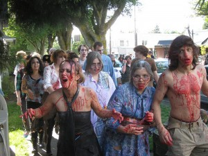 Zombie Walk 'n' Roll for AIDS Free Generation