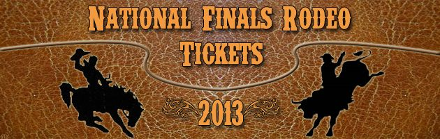 NFR Tickets 2013