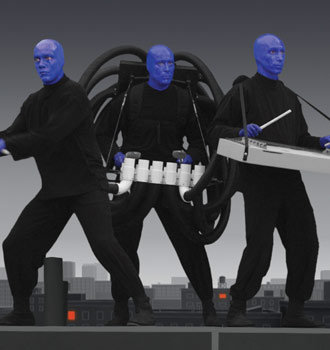 After Decline in 2013, Blue Man Group Tickets in Vegas Exhibit Small Increase in 2014