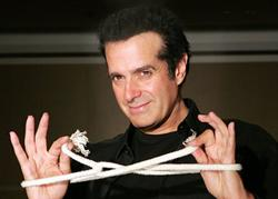 David Copperfield Performing Las Vegas