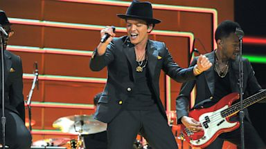 Bruno Mars Las Vegas December 2013