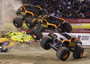 Monster Jam World Finals Vegas 2014