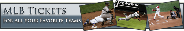 MLB Tickets header