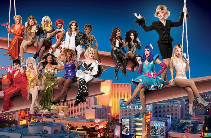 Frank Marino's Divas Las Vegas Header