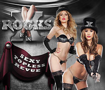 X Rocks Las Vegas Adult Show Tickets