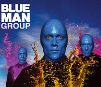 Blue Man Group Las Vegas Show Tickets