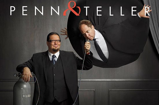 Penn and Teller Las Vegas Show Tickets