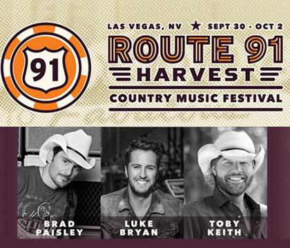 Route 91 Harvest Festival Las Vegas