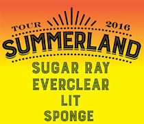 Summerland Tour Vegas Concert Tickets