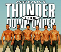 Thunder From Down Under Las Vegas Adult Show Tickets
